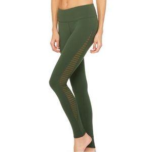 Alo Yoga Luminous Leggings Hunter Green